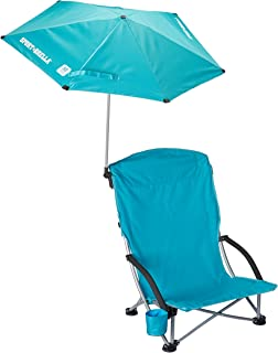 SKLZ Sportsbrella Beach Chair Portable Folding Chair
