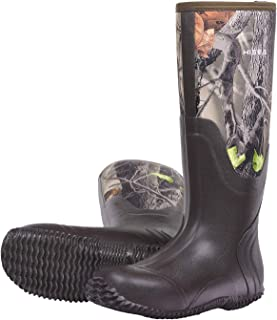 a1b2bbb362a4 Hisea Hunting Boots for Men Waterproof Insulated Mens Neoprene Rubber Boots  for Winter Snow Rain Arctic