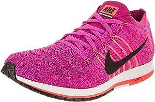 Womens Flyknit Streak Low Top Lace, Fireberry/Black-Racer Pink, Size 11.5