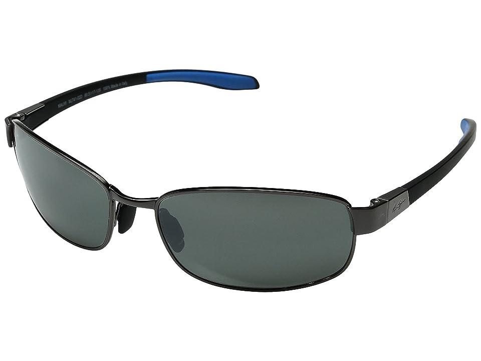 Maui Jim Salt Air (Gunmetal/Blue/Neutral Grey) Polarized Fashion Sunglasses