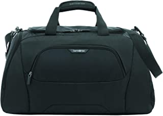 Samsonite 104349 Albi Soft Side Duffle Bag, Black/Grey, 30 Centimeters