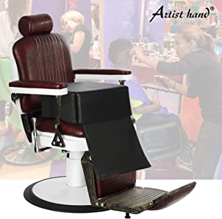 Artist Hand Children Leather Cushion Oversize Barber Salon Booster Seat,Spa Equipment Black