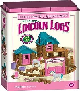 Lincoln Logs - Little Prairie Farmhouse - Pink