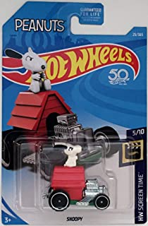 Hot Wheels 2018 50th Anniversary HW Screen Time Peanuts Snoopy Car 25/365