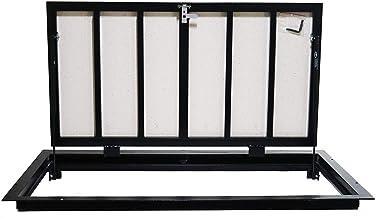 Stalen vloerluik 70 cm x 120 cm H inspectie luik tegelbekleding