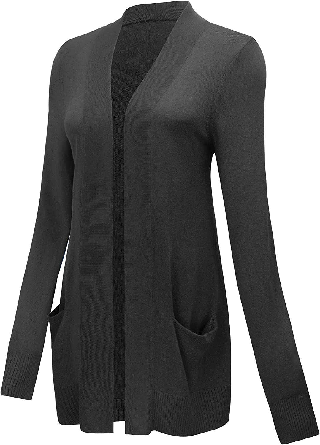 Spicy Sandia Women's Open Front Lightweight Long Cardigans Knit Special sale Sale special price item