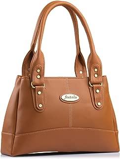 Fostelo Women's Catlin Handbag (Tan) (FSB-1031)