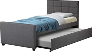 Best Quality Furniture Upholstered Twin Bed,