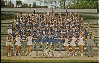 Jacksonville (Alabama) High School Eagles Marching Band & Majorettes Vintage Postcard (#70883-B)