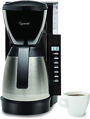 Capresso CM300 - Cafetera (10 tazas), color negro