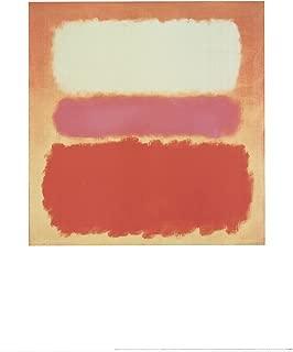 White Cloud over Purple By: Mark Rothko 27.5 x 35.5 Rare Art Poster
