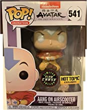 Funko Pop! Avatar The Last Airbender Aang on Airscooter Glow Chase GITD Exclusive
