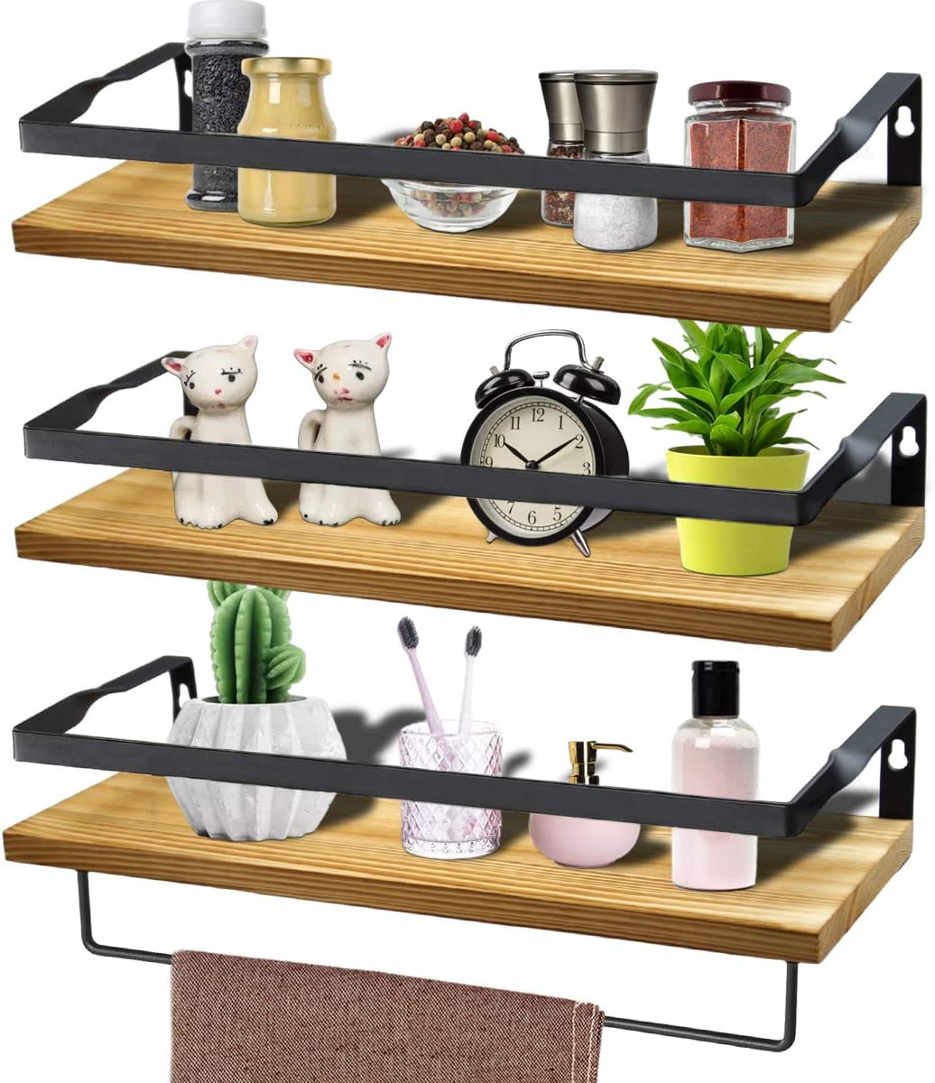 MLCINI Floating Shelves Wall Max 64% OFF Mutifunctional San Diego Mall for