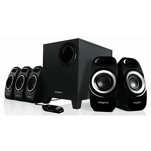 Creative Inspire T-6300 5.1 Multimedia Speaker System (Black)