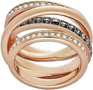 施华洛世奇女式戒指动态白色水晶 尺码 60 (19.1) 5184221