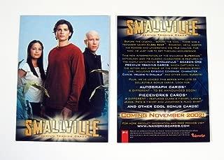 2002 Inkworks Smallville Season 1 Promo Card (P-1) Nm/Mt