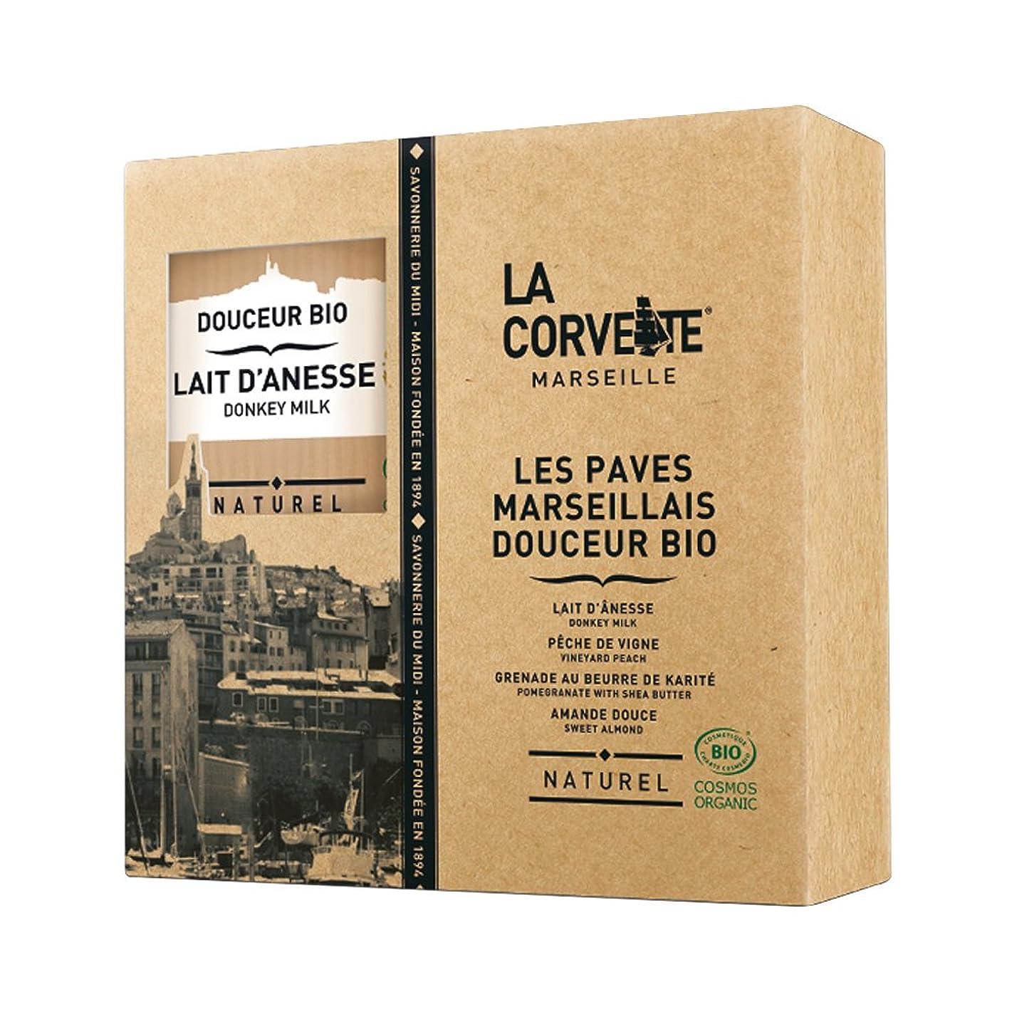とげのあるサンダー腹痛La Corvette(ラ?コルベット) ラ?コルベット ビオソープギフトボックス