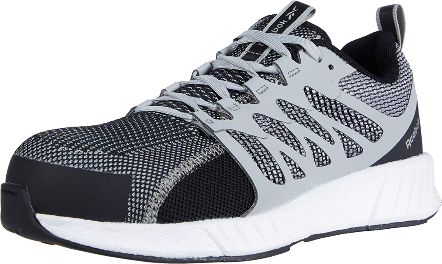 Reebok Men's Fusion Flexweave Safety Toe Work Athletic Max 58% OFF Shoe Year-end annual account