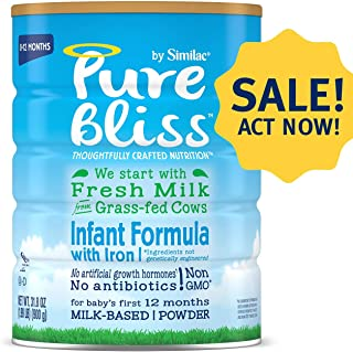 Similac 雅培 Pure Bliss 婴幼儿奶粉 (0-12个月) 4罐装(900g*4)