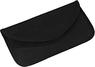 Car Key Protection Cell Phone Bag, Smartphone Pouch No-Signal Radiation Protection Bag Cell Phone Bag (Black)