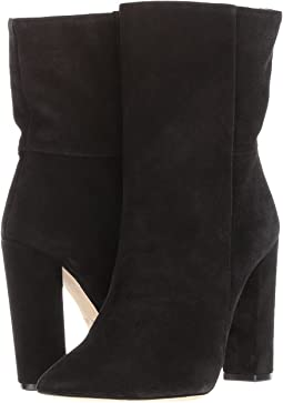 Chunky Heel Ankle Bootie