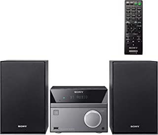 Sony Compact Stereo Sound System for House with Bluetooth Wireless Streaming NFC, Micro Hi-Fi 50W, CD Player with Separate...