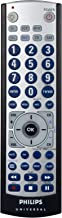 Philips SRU3006/27 Universal Big Button 6 in 1 Remote (Silver/Black) (Discontinued by Manufacturer)