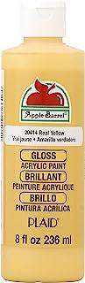 Apple Barrel Błyszcząca farba akrylowa w różnych kolorach (230 ml), połysk prawdziwy żółty