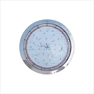 Poolexa Large LED Color Inground Pool Light with 30 Feet Cord for Wet Niche