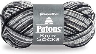 Patons  Kroy Socks Yarn - (1) Super Fine Gauge  - 1.75 oz -  Slate Jacquard -   For Crochet, Knitting & Crafting