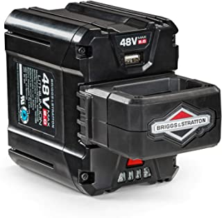 Briggs & Stratton 48V MAX 2.0 Lithium-ion Battery for Snapper HD Electric Cordless tools, 1697088, BSB2AH48
