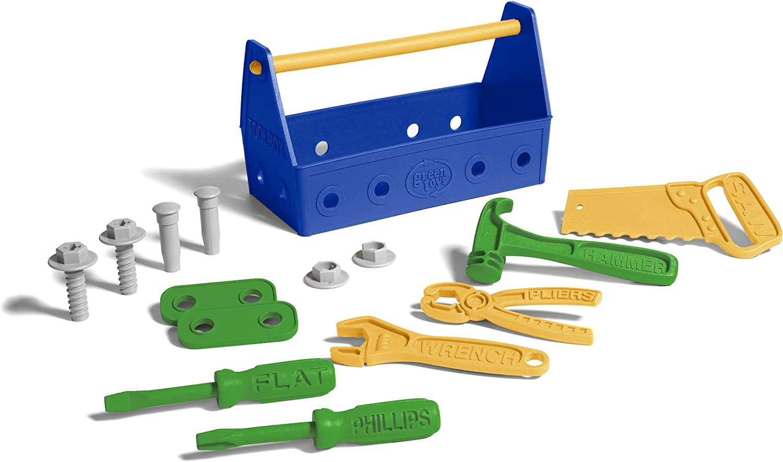 BNIB MADE in USA 24 piece set New The Original Green Toys Dish Set