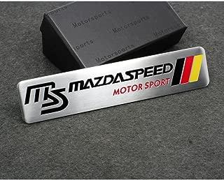 BENZEE Car Styling Accessories C110 Emblem Badge Decal Sticker MS MAZDASPEED MOTORSPORTS Racing M3 M5 M6 ATENZA AXELA CX-5 CX-7 CX-8