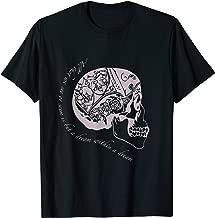 Edgar Allan Poe Skull T Shirt