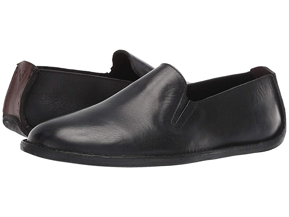 Vivobarefoot Porto Rocker Slip-On (Black Leather) Men