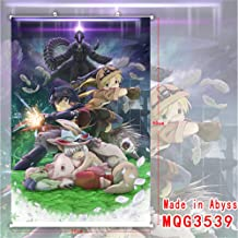 Made In Abyss Anime Scroll Poster, Anime Cartoon Character Poster Waterproof Cloth Wall Hanging Paintings Home Decor Perfect For Anime-Fans 30X45cm(WxH) 11.81
