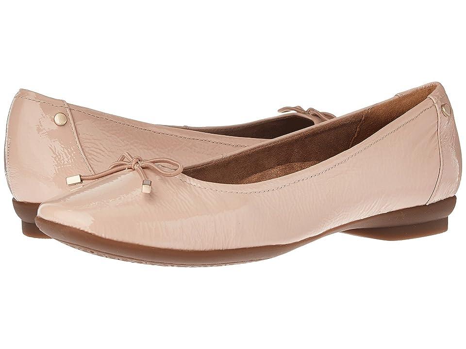 Clarks Candra Light (Dusty Pink Patent) Women