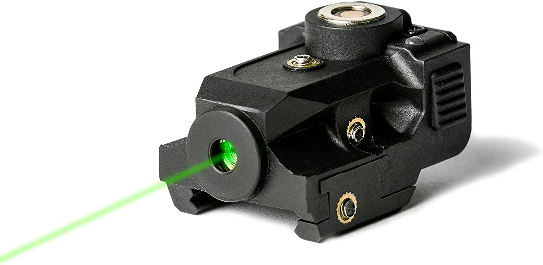 BattleBeam V1 Laser Sight | Rifle or Handgun | Weaver or Picatinny Rail | Red Green or Blue Dot Lazer Sight Pistol | Tactical Sights Airsoft | Scope Hand Gun Rifles | Pistol | Air Soft Optic