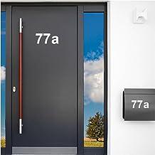 Wandaro W3396 wandtattoo zelfklevende belettering huisnummer cijfers cijfers deur wit