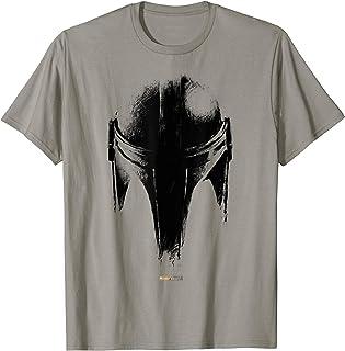 The Mandalorian Dark Helmet Sketched T-Shirt