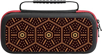 $26 » Modern Mudcloth Pattern Case Compatible with Switch Case Protective Carry Bag Hard Shell Storage Bag Portable Travel Case ...