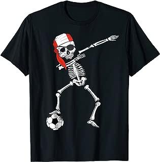 Peru Pirate Patriotic Dabbing Peru Soccer Jersey Shirt
