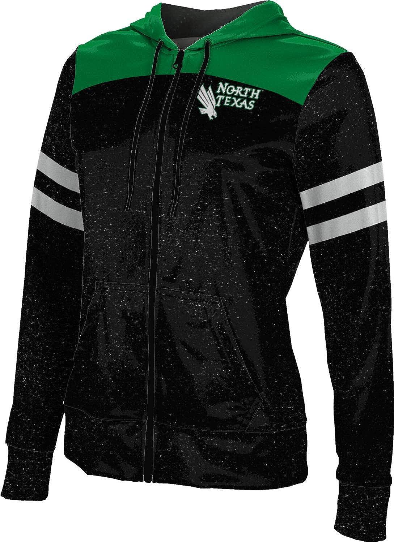 University of North Texas Girls' Zipper Hoodie, School Spirit Sweatshirt (Gameday)