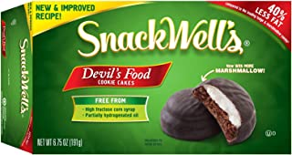 SnackWell's Devil's Food Cookie Cakes, Original, 6.75 Ounce