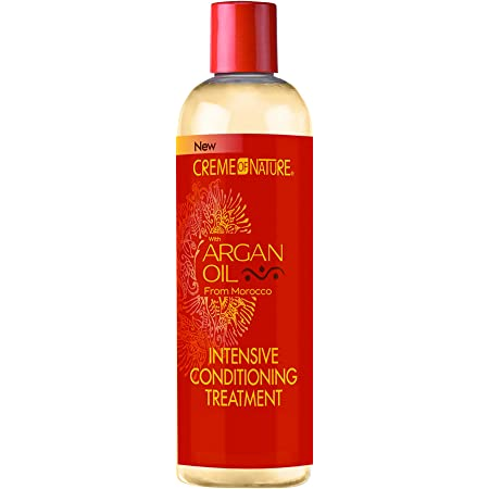 Creme of Nature Argan Oil Intensive Conditioning Treatment, 12 Ounce, Yellow (ULT-106)