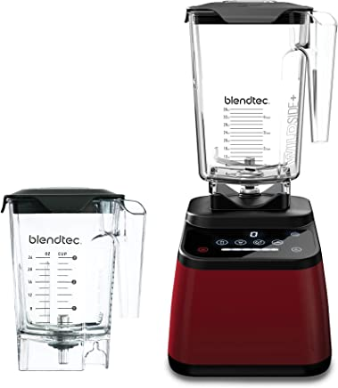 Blendtec D625A2826A1A-AMAZON Designer Bundle with Wild-Side and Jar and Mini Wild-Side Jar, Pomegranate