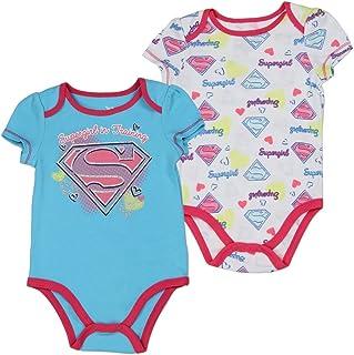 11e090065 Supergirl Infant Baby Girls