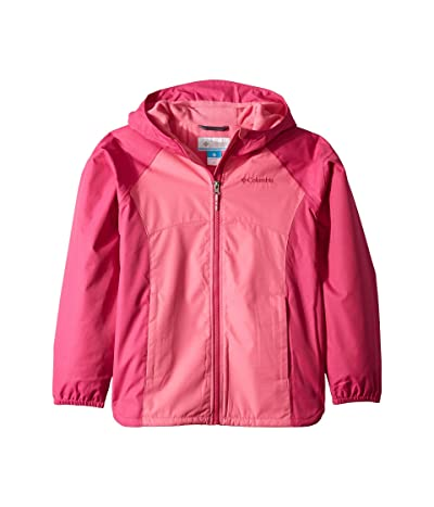 Columbia Kids Endless Explorer Jacket (Little Kids/Big Kids) (Wild Geranium Heather/Haute Pink Heather) Girl