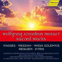 Mozart : uvres sacrées. Rilling, Richter, Wand, Davis.