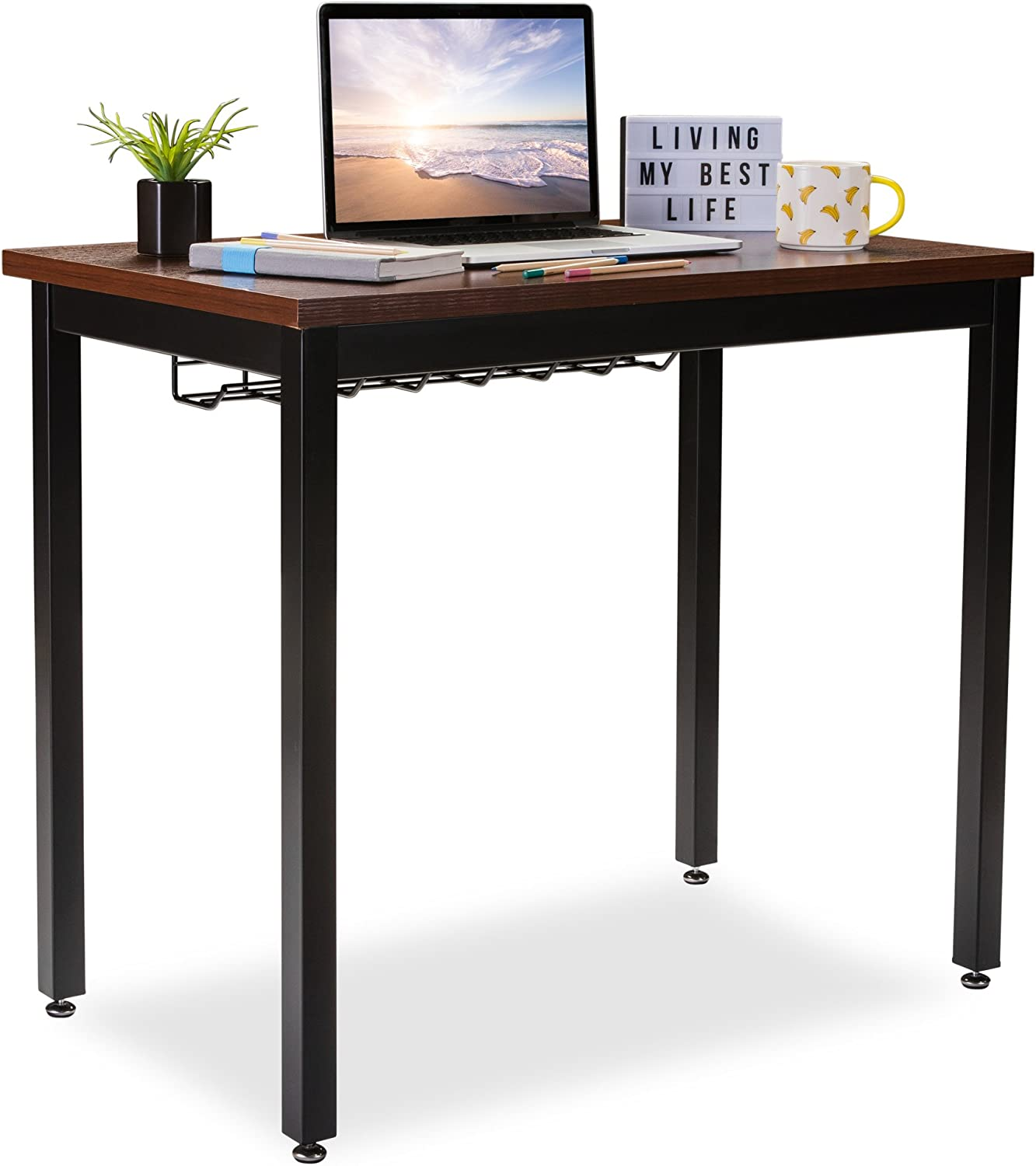 """Small Computer Desk for Home Topics on TV Luxury goods Office Cable w Length Or Table 36"""""""